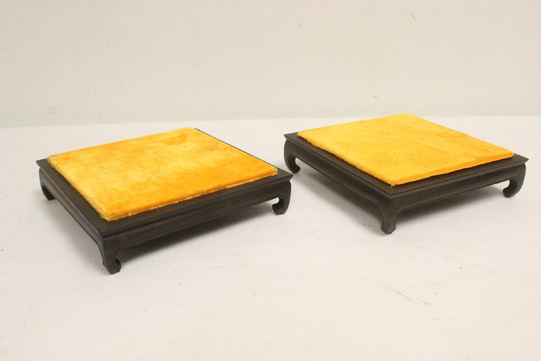 7 zitan wood frame bases - 8