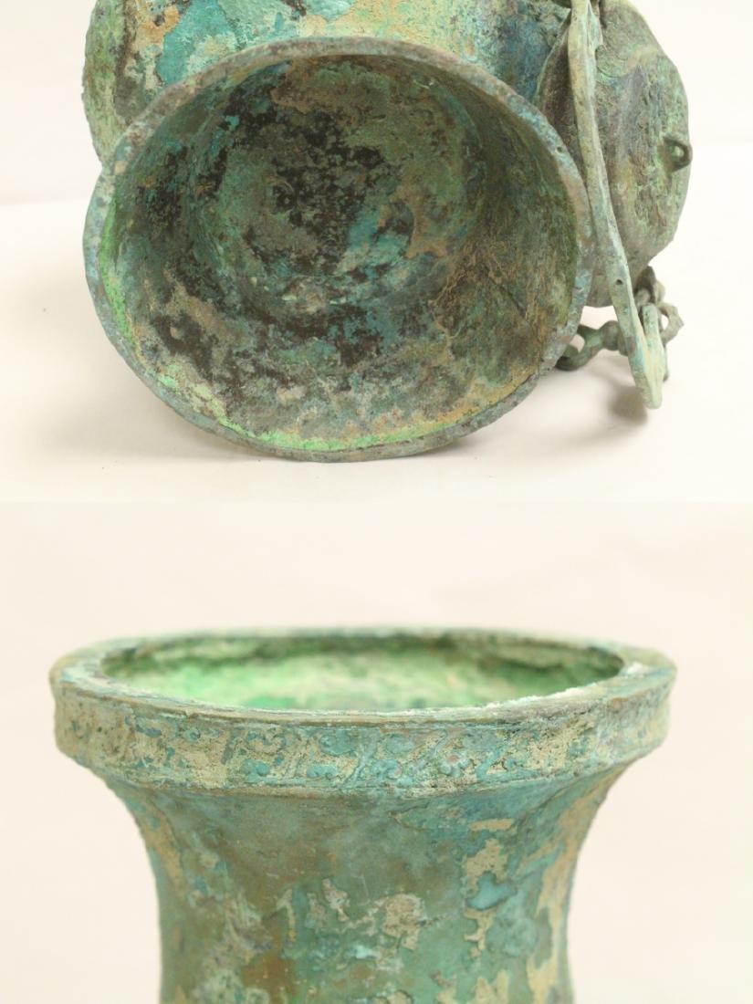 Chinese archaic style wine hu - 10