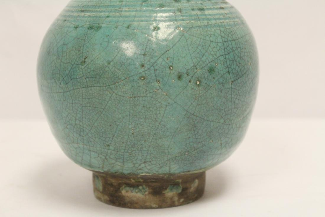 Chinese green glazed jar - 7