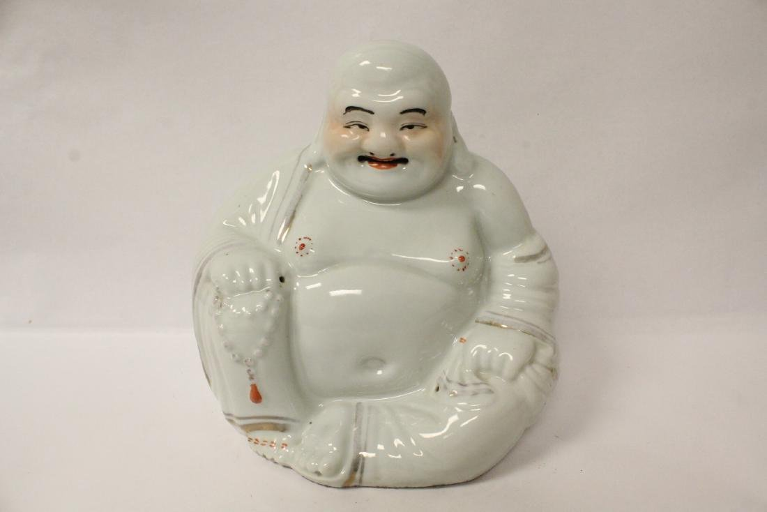 Chinese vintage porcelain sculpture of Buddha