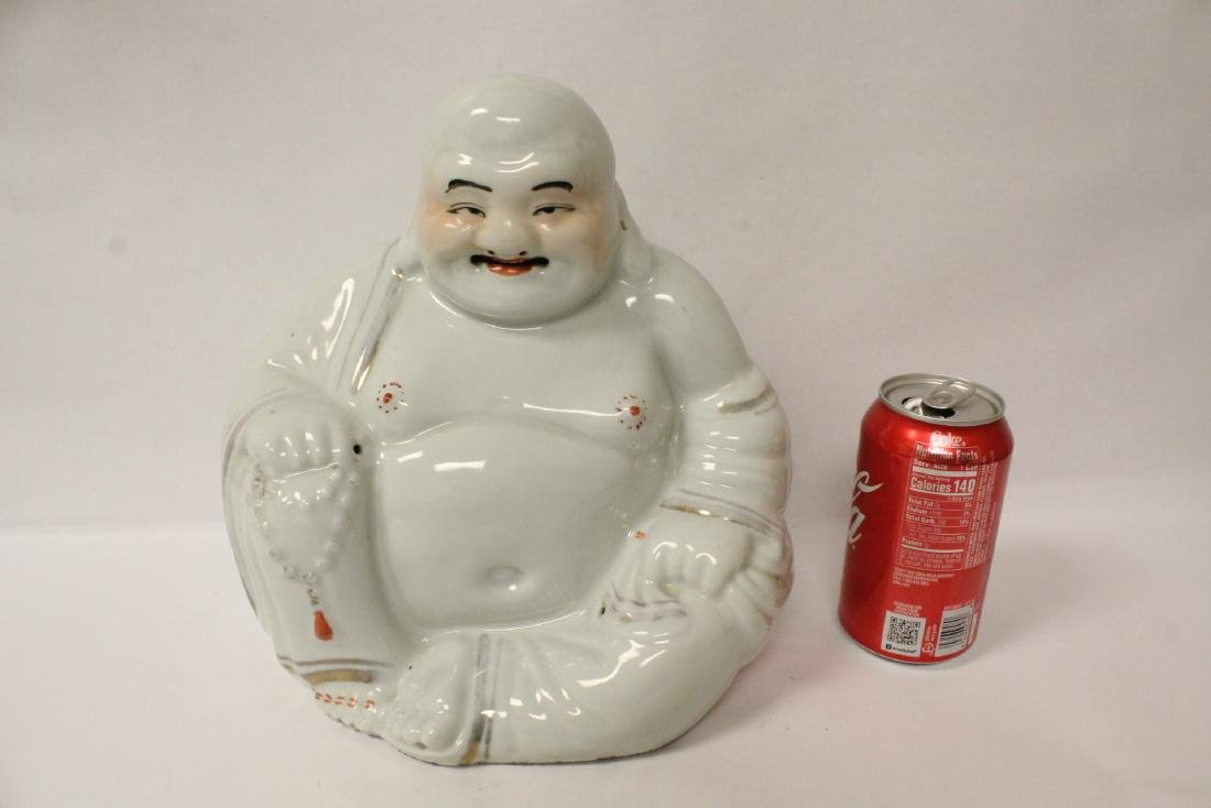 Chinese vintage porcelain sculpture of Buddha - 2