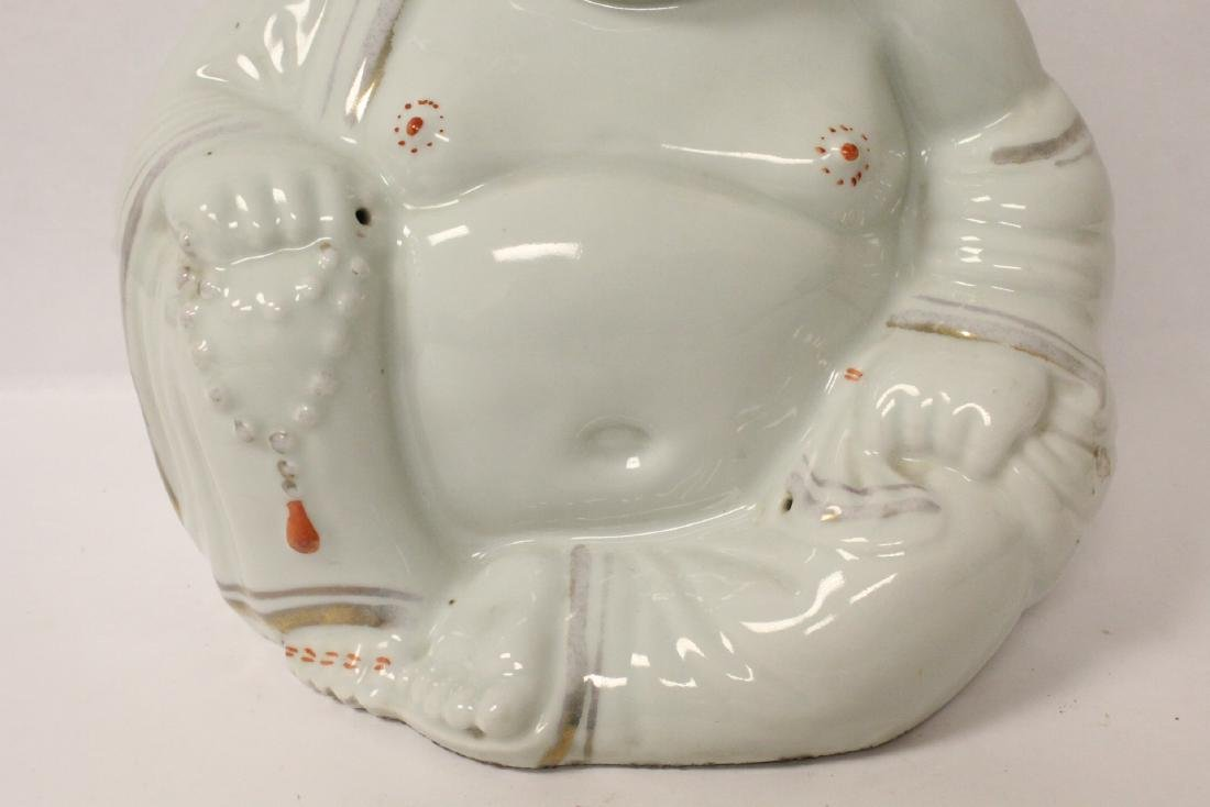 Chinese vintage porcelain sculpture of Buddha - 3