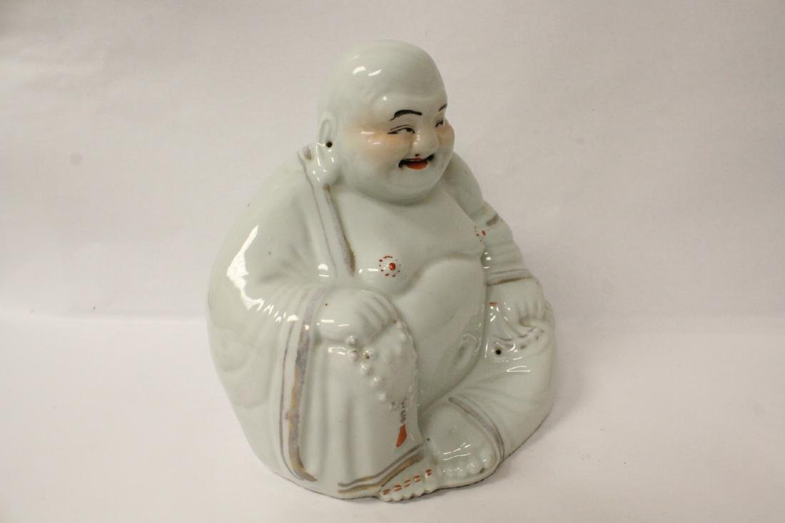 Chinese vintage porcelain sculpture of Buddha - 7