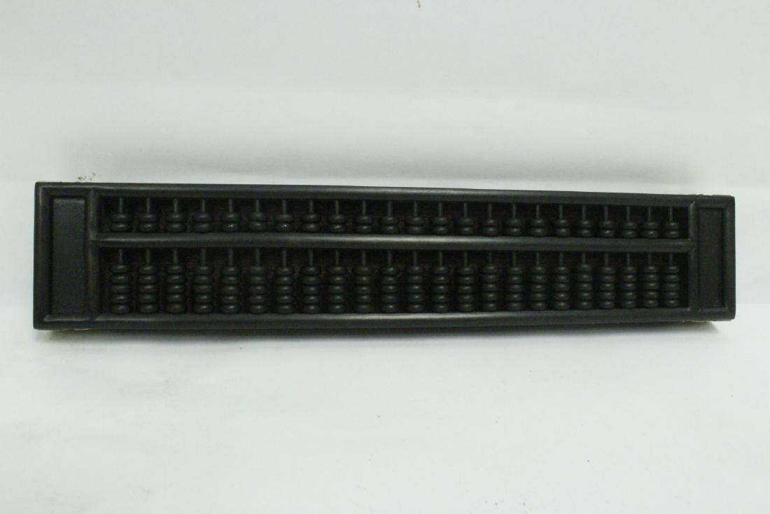 Chinese zitan like wood abacus - 8