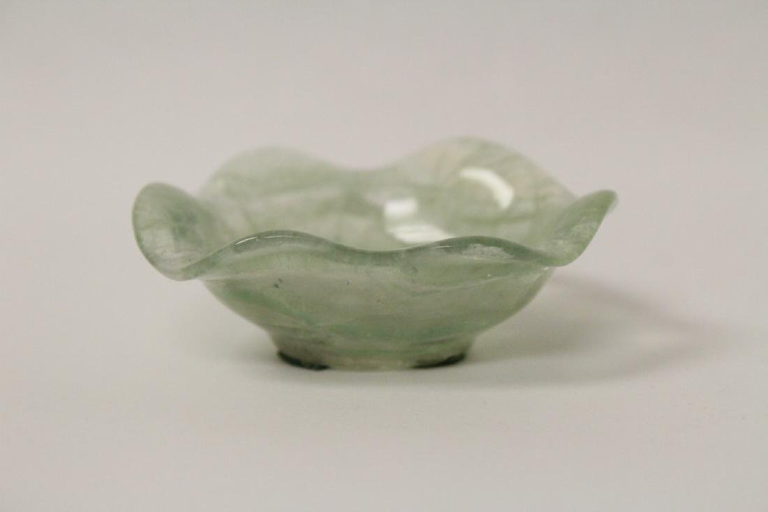 Antique Chinese crystal small brush wash
