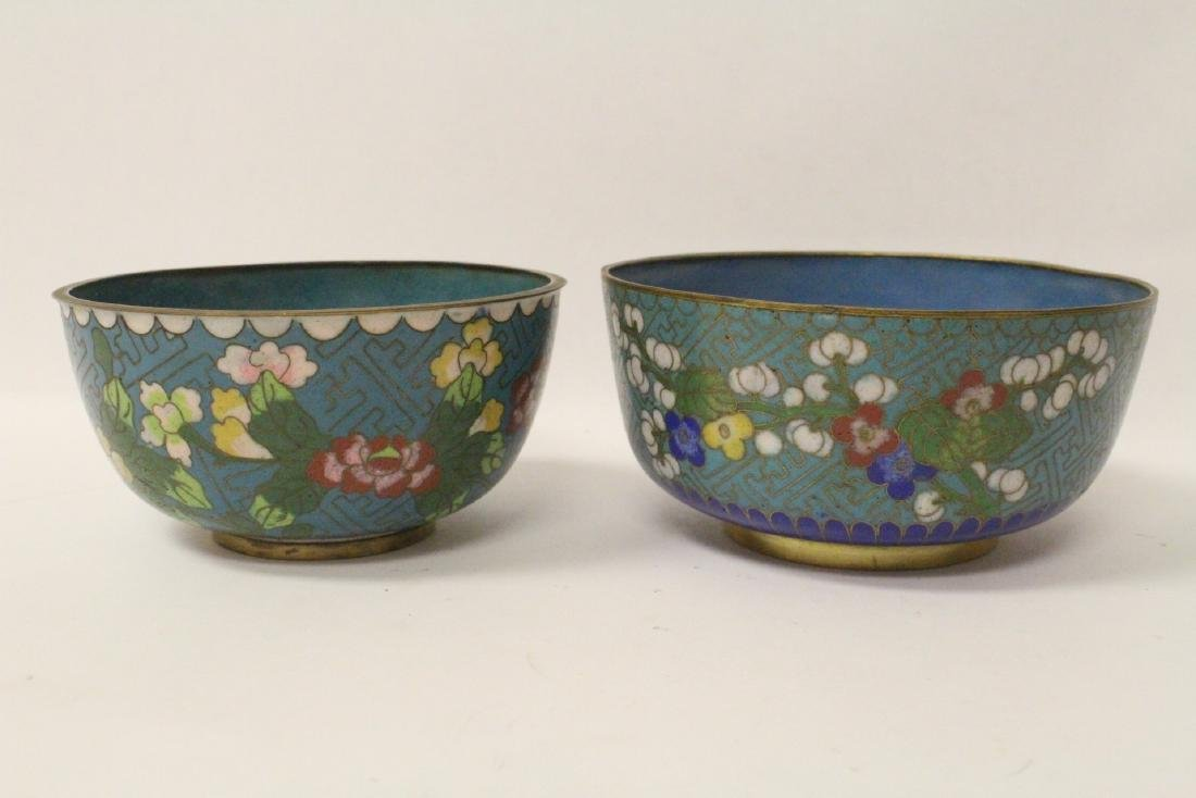 6 pieces Chinese vintage cloisonne - 2