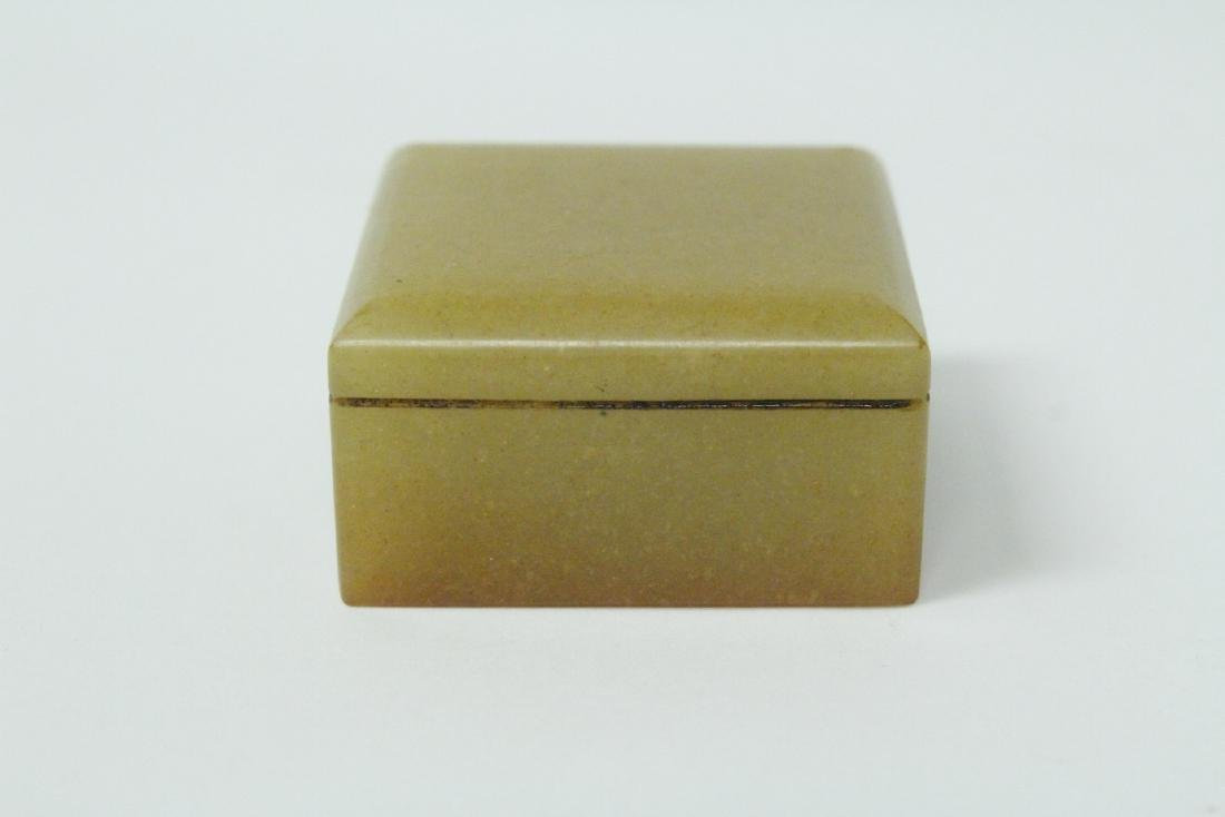 Shoushan stone seal in box - 3