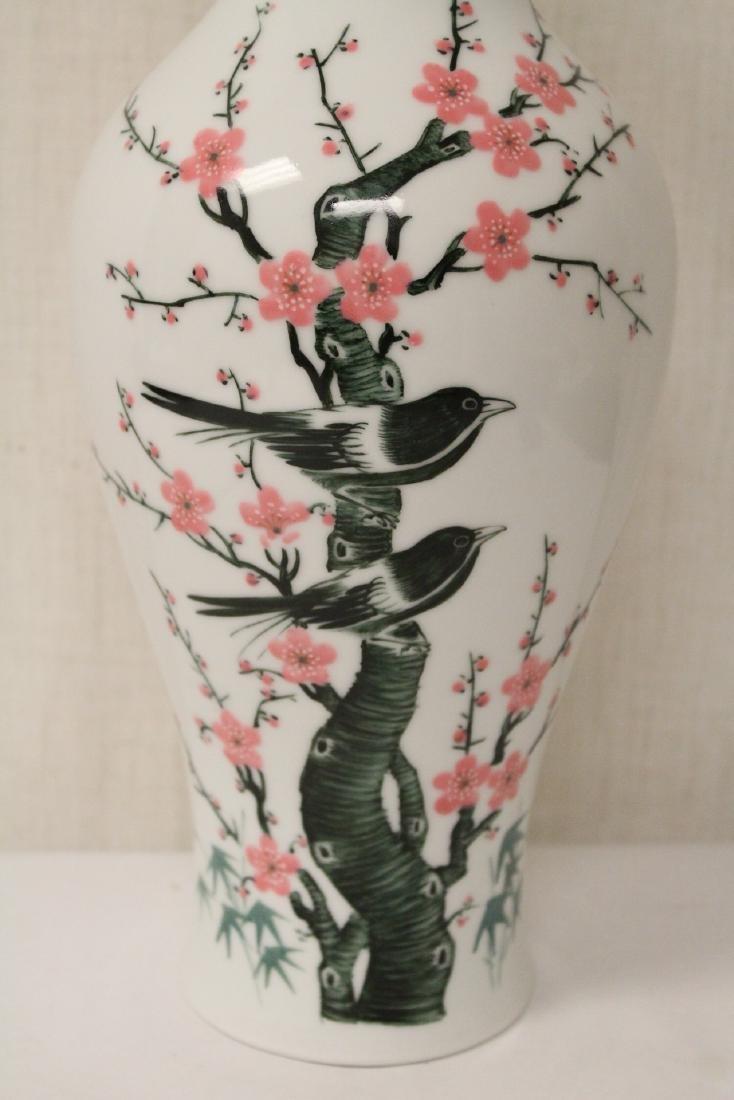 Beautiful Chinese wucai porcelain vase - 8