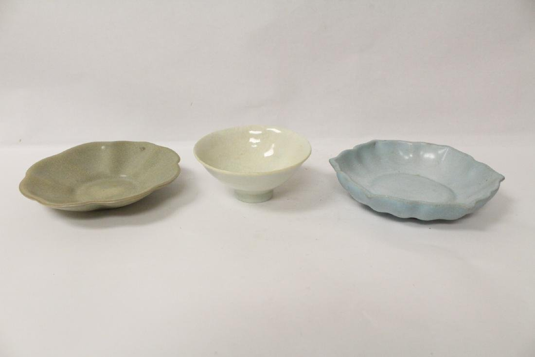 3 Song style bowls
