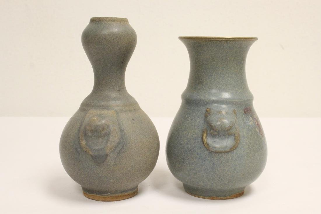 2 Song style porcelain vases - 2