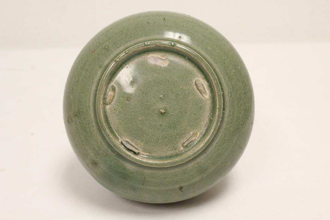 Song style celadon jar - 10