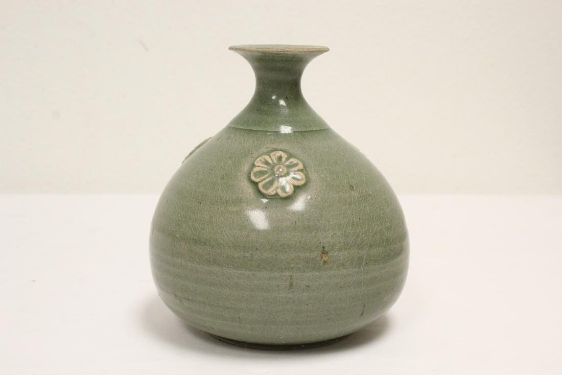 Song style celadon jar - 2