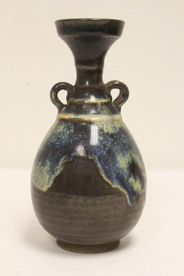 Song style brown glazed vase