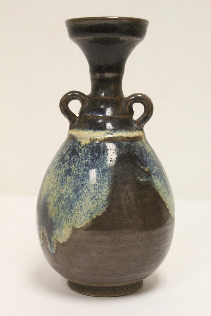 Song style brown glazed vase - 3