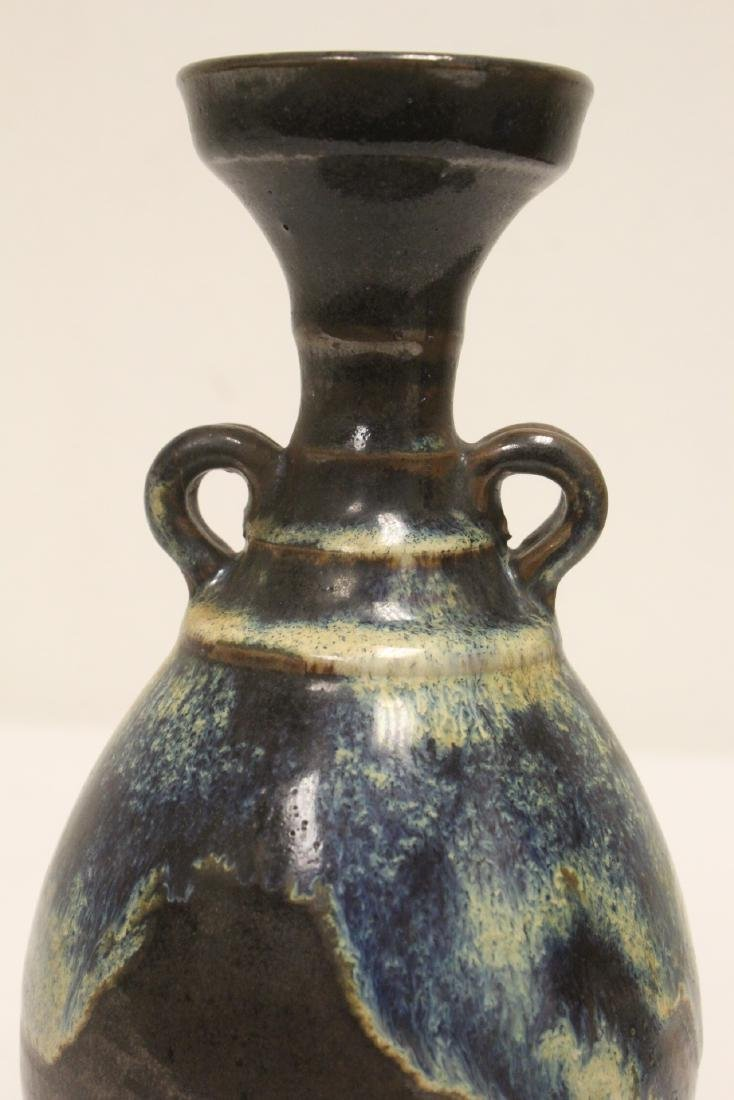 Song style brown glazed vase - 6