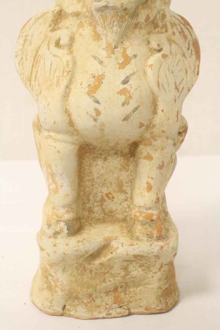 Sancai style pottery standing beast - 3