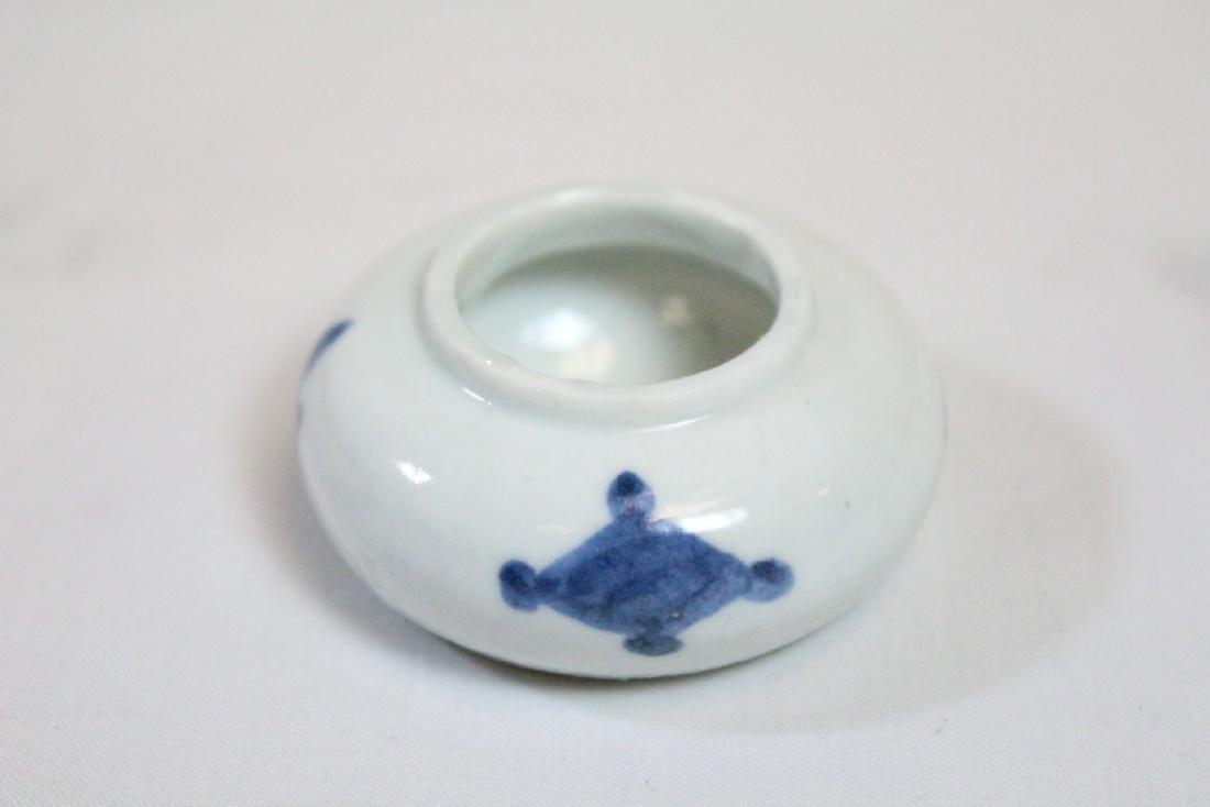 3 miniature porcelain pieces - 10