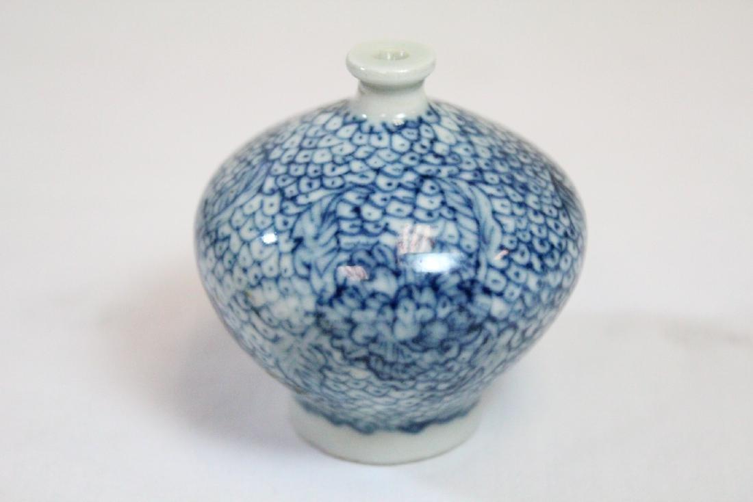 3 miniature porcelain pieces - 8