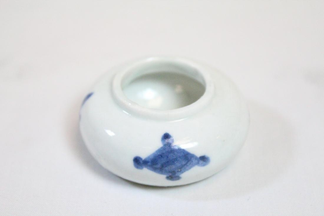 3 miniature porcelain pieces - 9