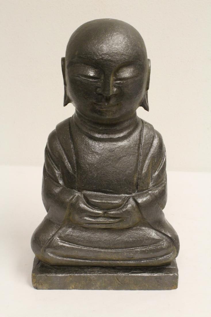 2 stone carved Buddha - 2