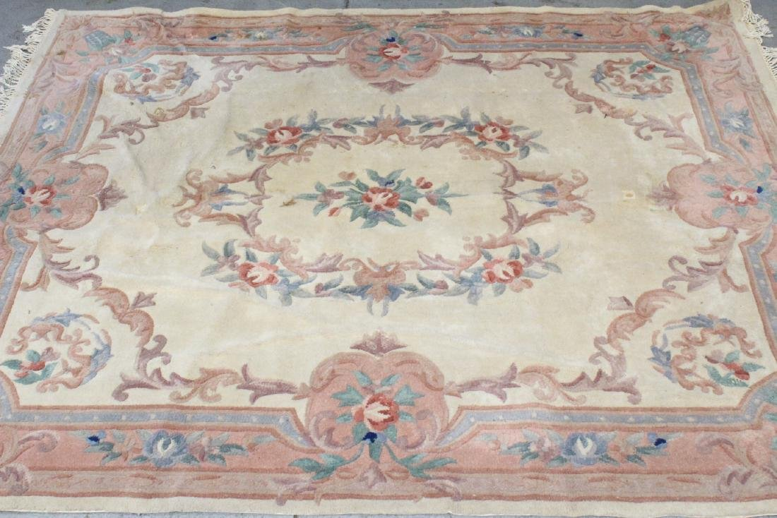 A room size Chinese rug - 2