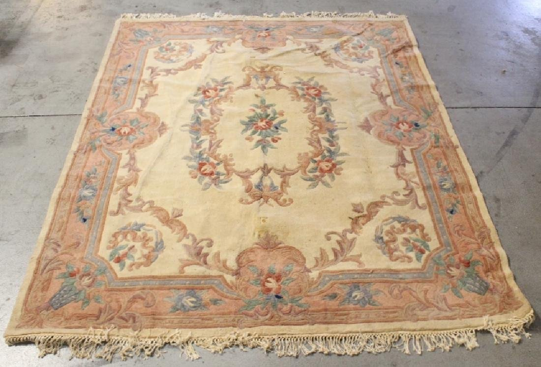 A room size Chinese rug - 5