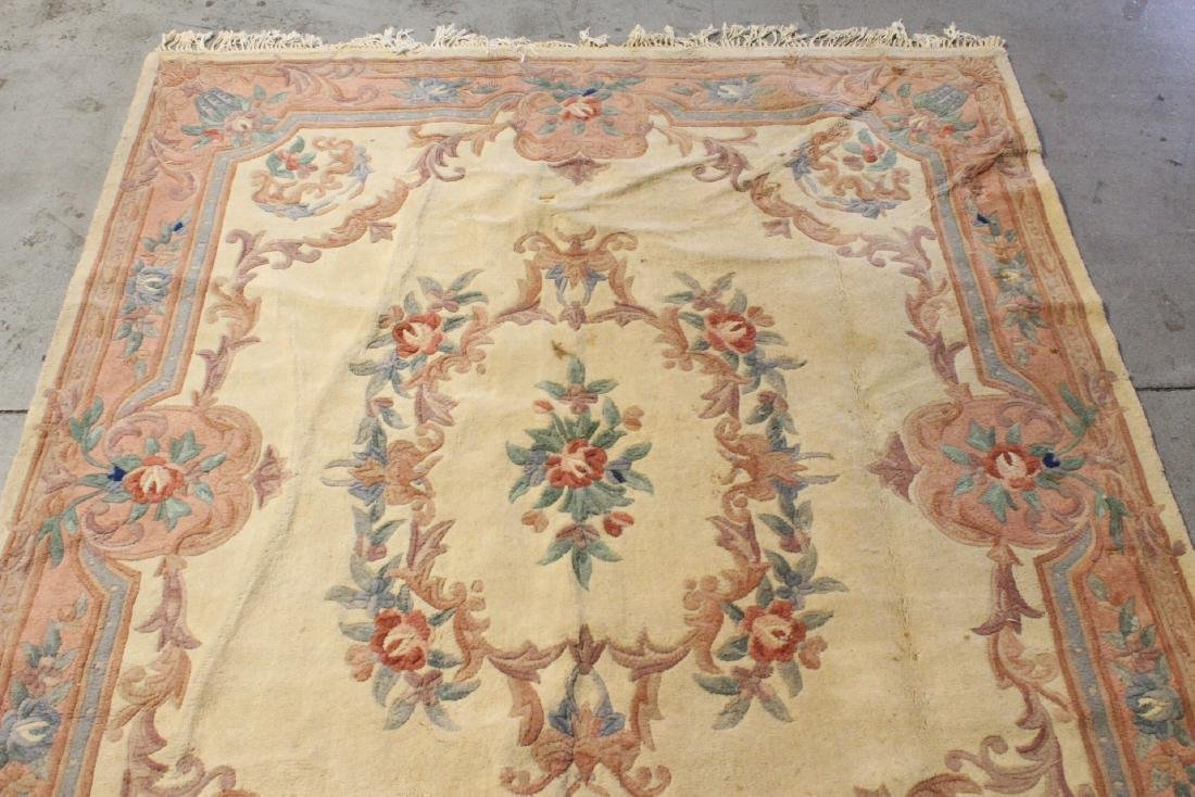 A room size Chinese rug - 6