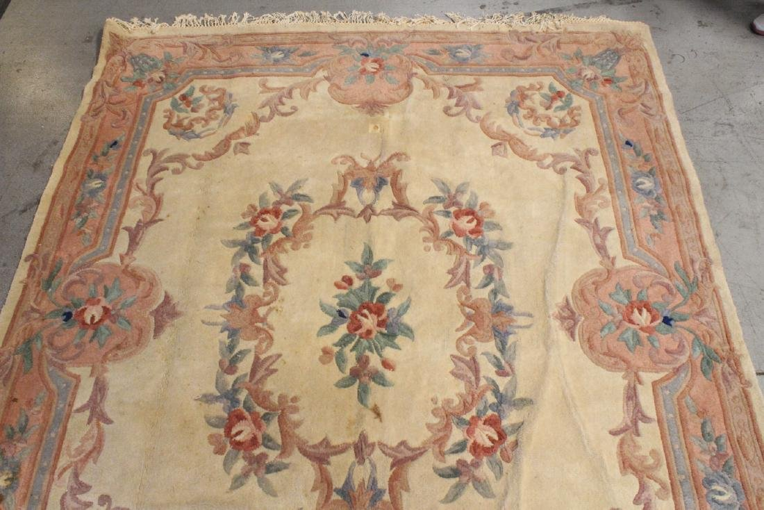 A room size Chinese rug - 7