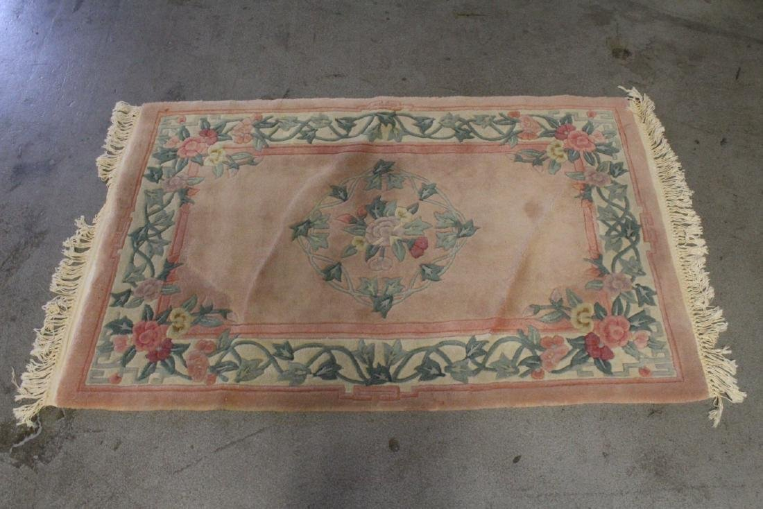 3 Chinese area rugs - 10