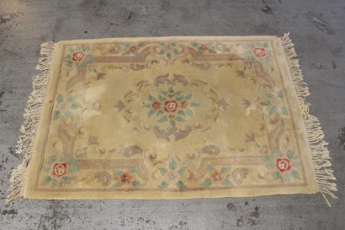 3 Chinese area rugs - 2