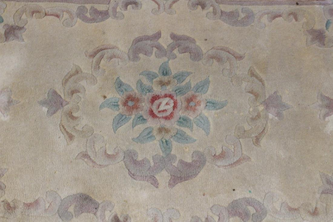 3 Chinese area rugs - 3