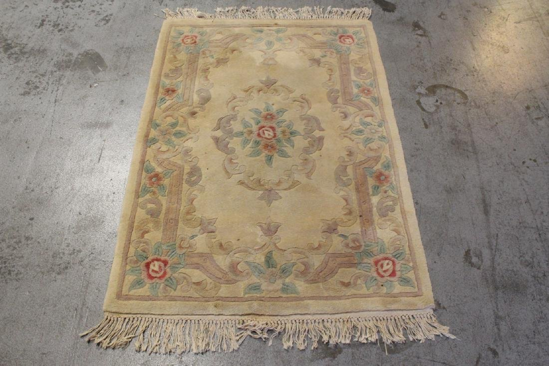 3 Chinese area rugs - 4