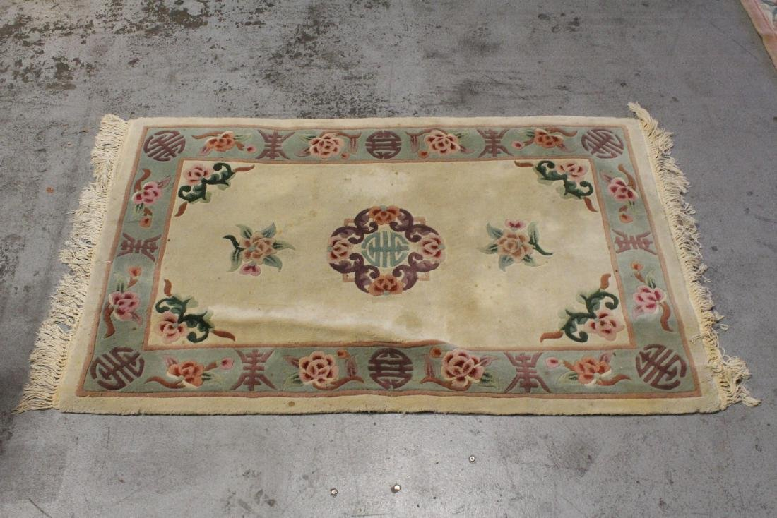 3 Chinese area rugs - 6
