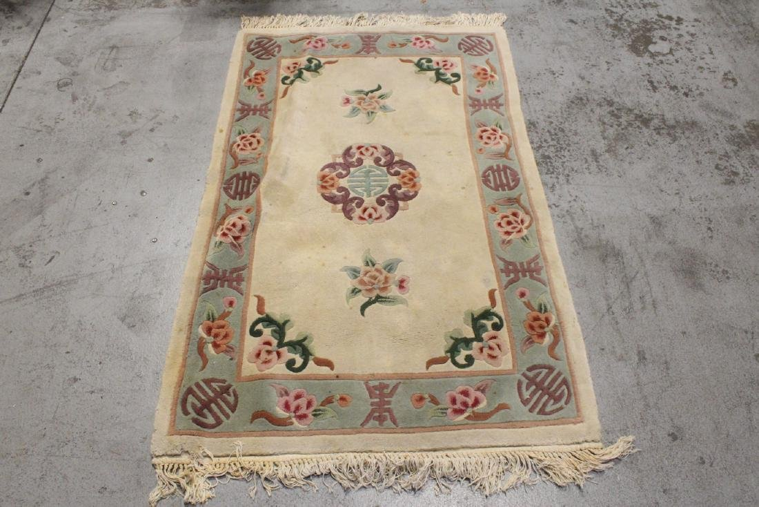 3 Chinese area rugs - 8