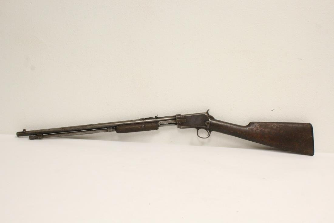 Antique Winchester 22 model 6 rifle
