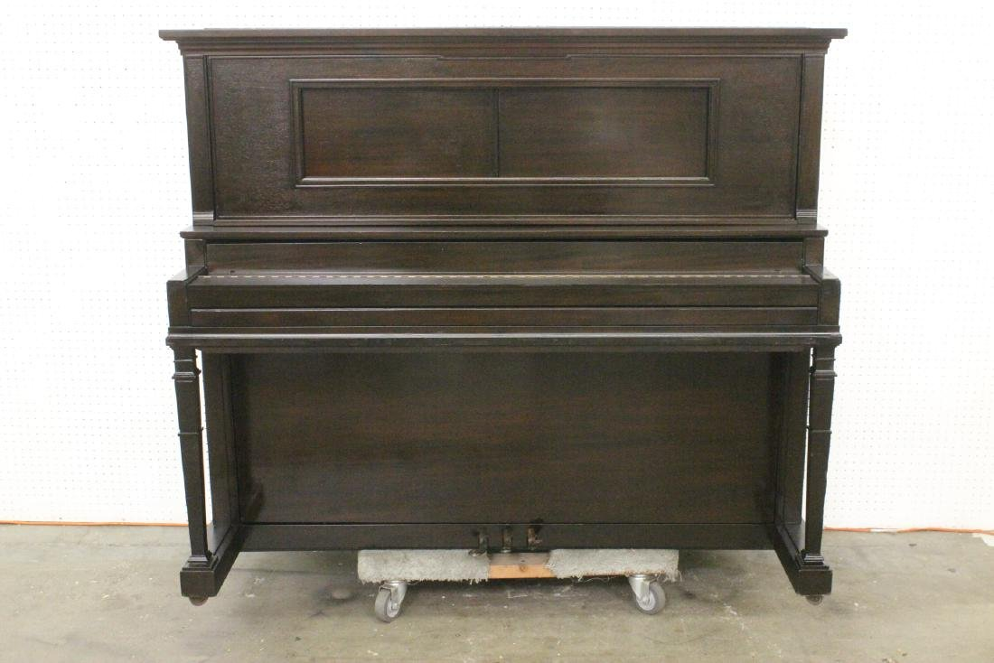 Victorian mahogany cased player piano by Chickering - 8