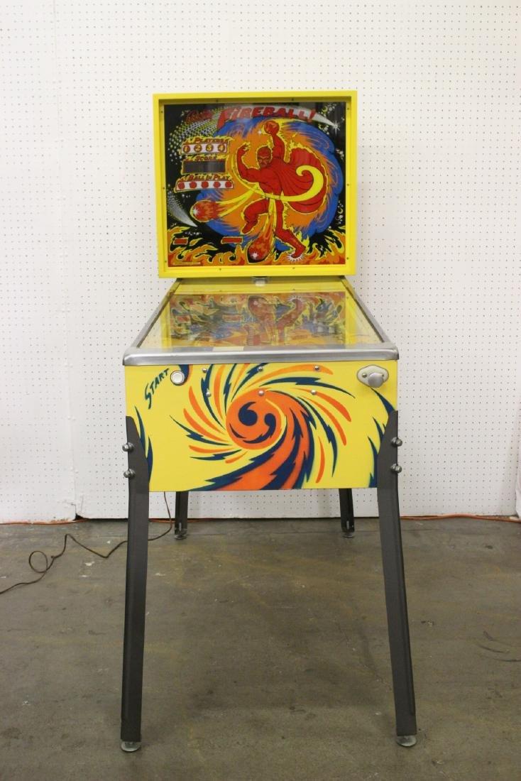 A Bally Fireball 4-player pinball machine - 2