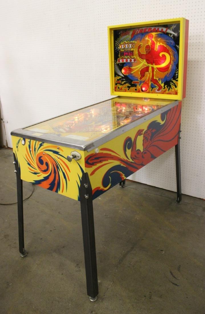 A Bally Fireball 4-player pinball machine - 5