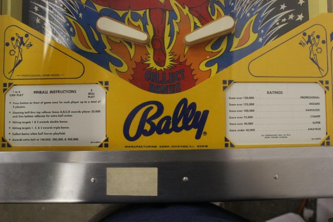 A Bally Fireball 4-player pinball machine - 7