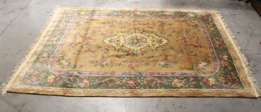A palace size Chinese rug