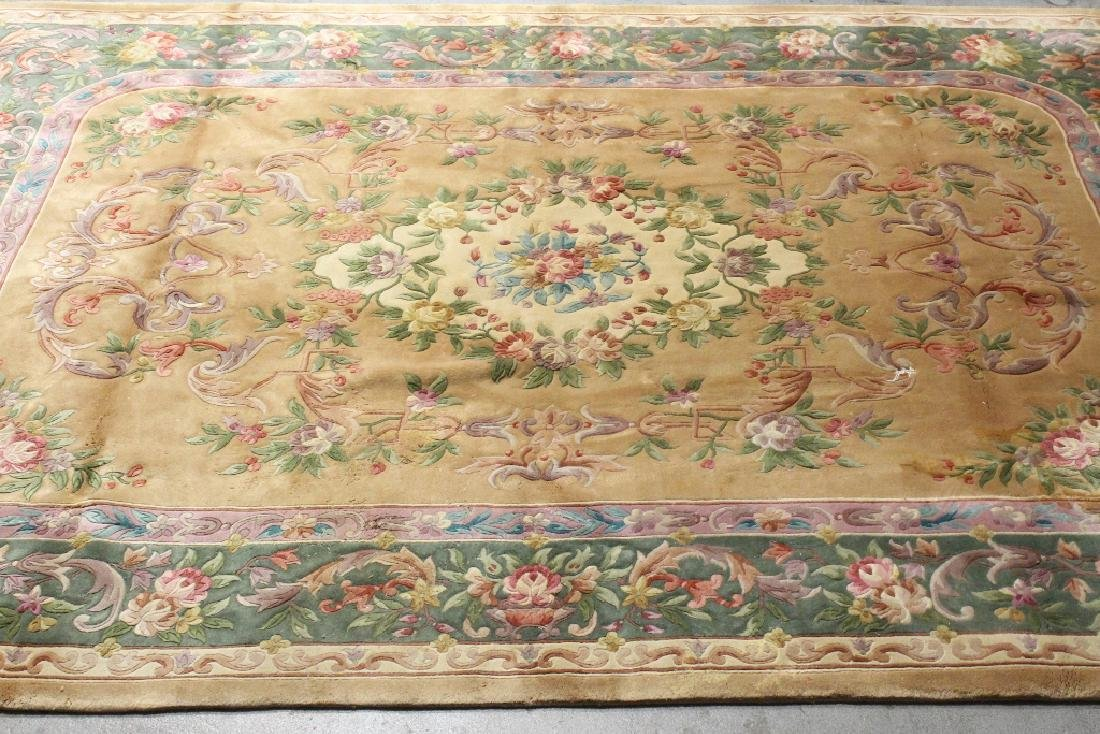 A palace size Chinese rug - 2