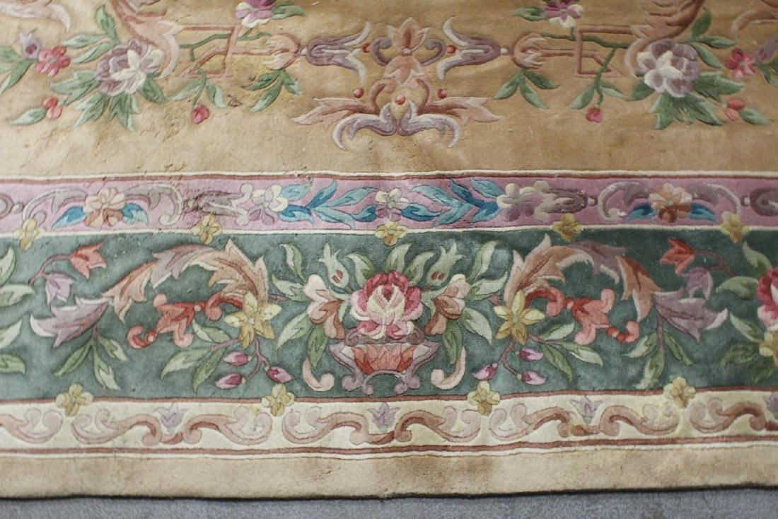 A palace size Chinese rug - 5