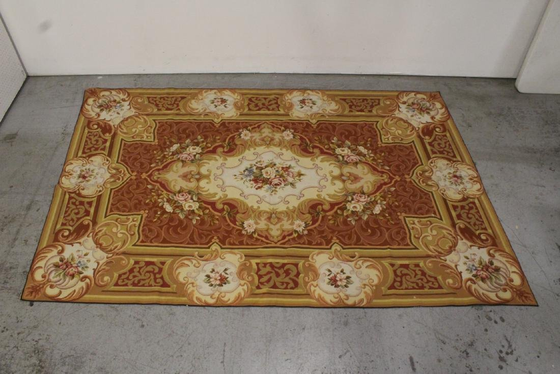 French Aubusson style tapestry rug
