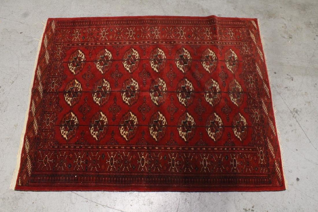 A beautiful Bukhara rug