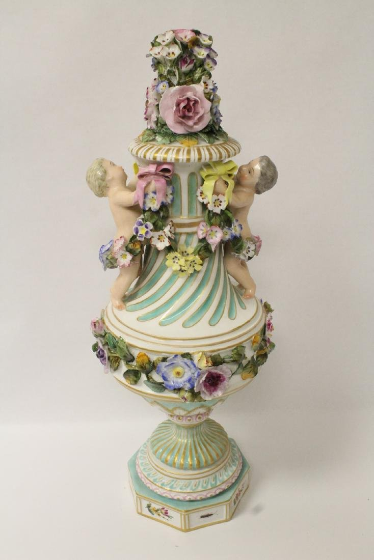 Meissen vintage covered center piece