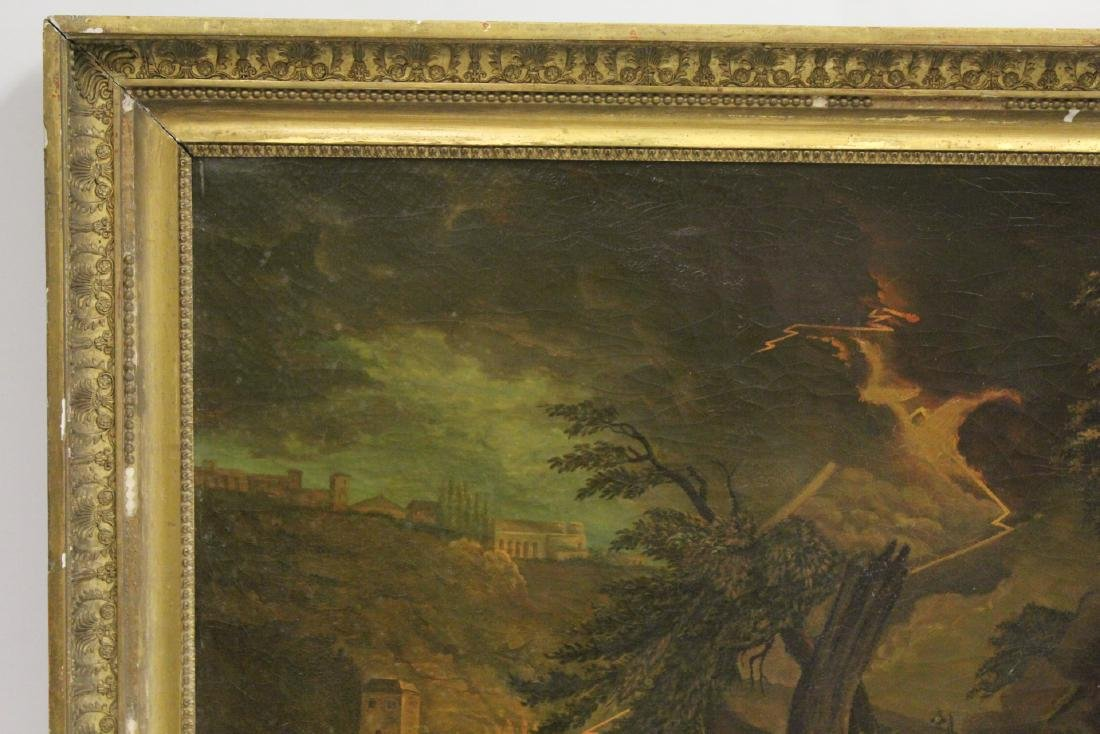 A large 19th century oil on canvas painting - 2