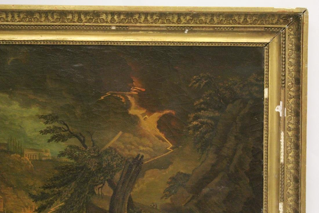 A large 19th century oil on canvas painting - 3