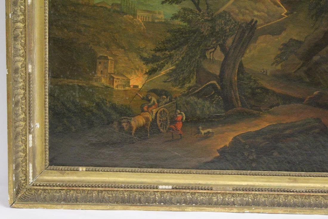 A large 19th century oil on canvas painting - 5