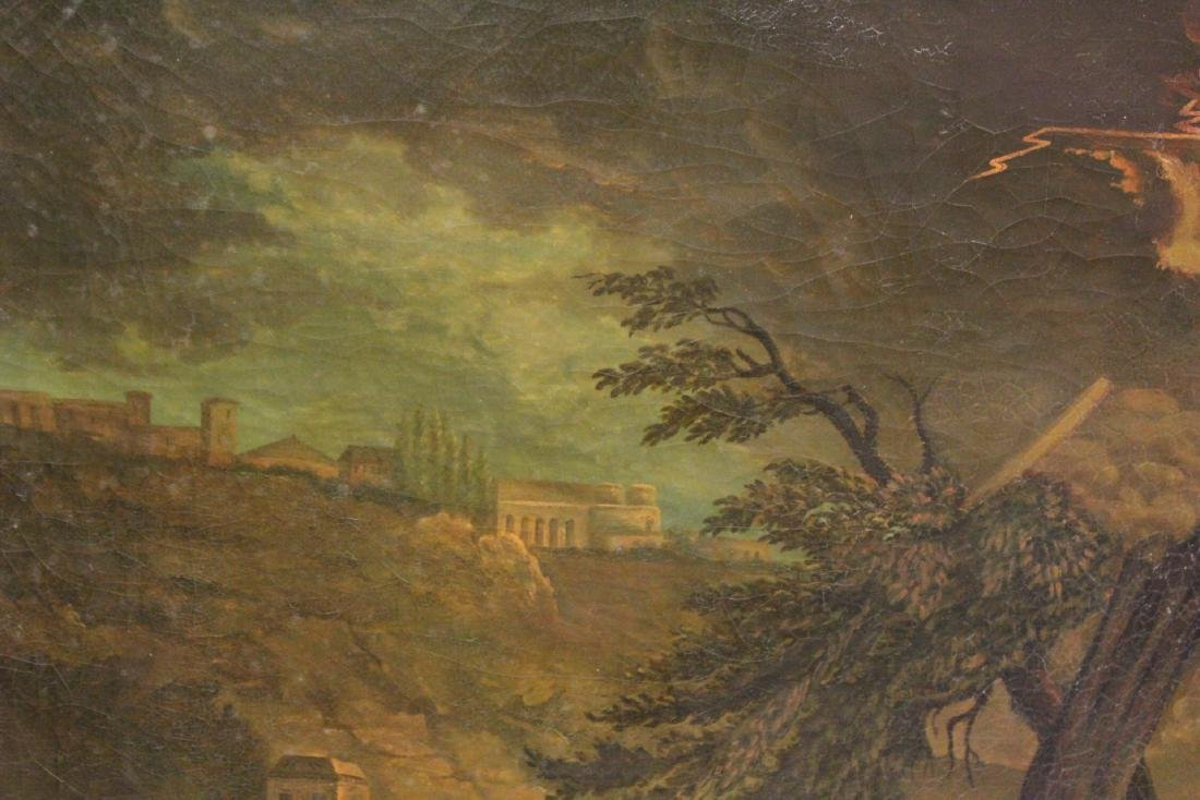A large 19th century oil on canvas painting - 7