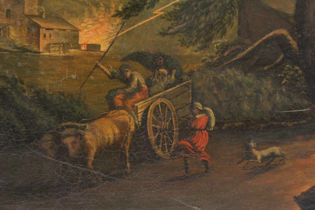 A large 19th century oil on canvas painting - 9